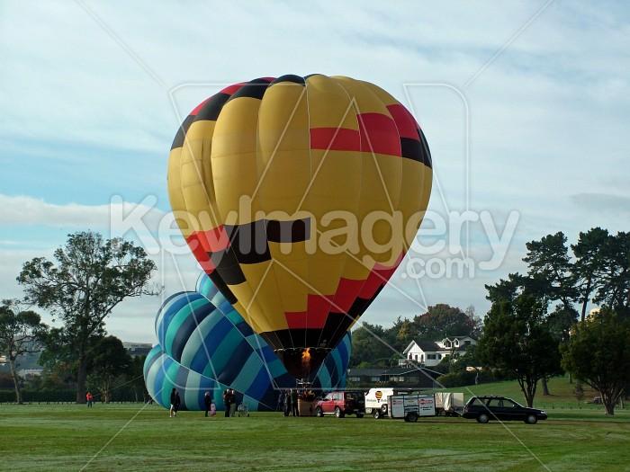 waikato balloon ready for take off Photo #1524