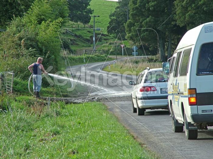 Washing the road Photo #615
