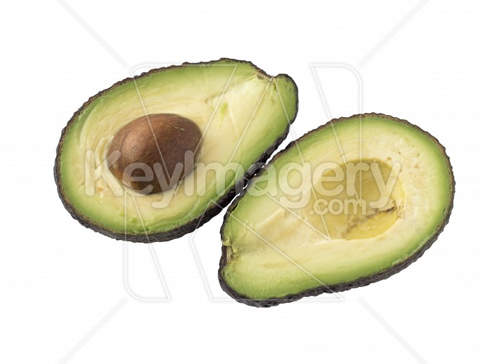 Avocado isolated on white background. Photo #61577
