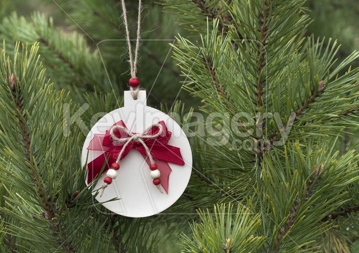 Homemade wooden Christmas decorations for the Christmas tree. Photo #62657