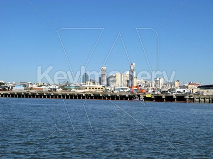 A pier along the Brisbane River Photo #12628