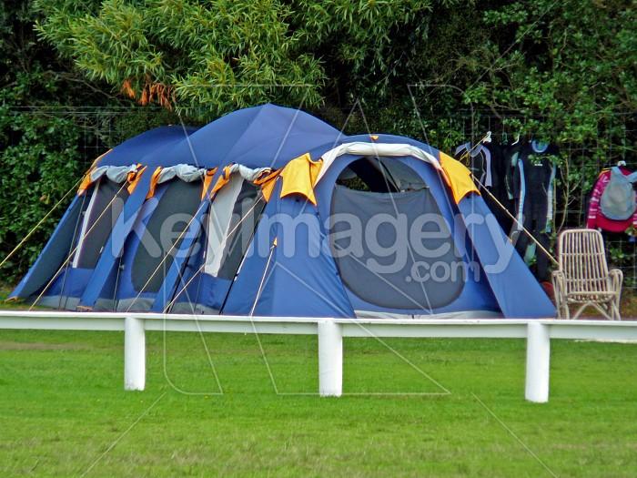 Blue tent Photo #1284