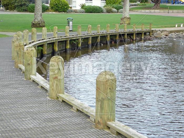 Boardwalk corner Photo #4116