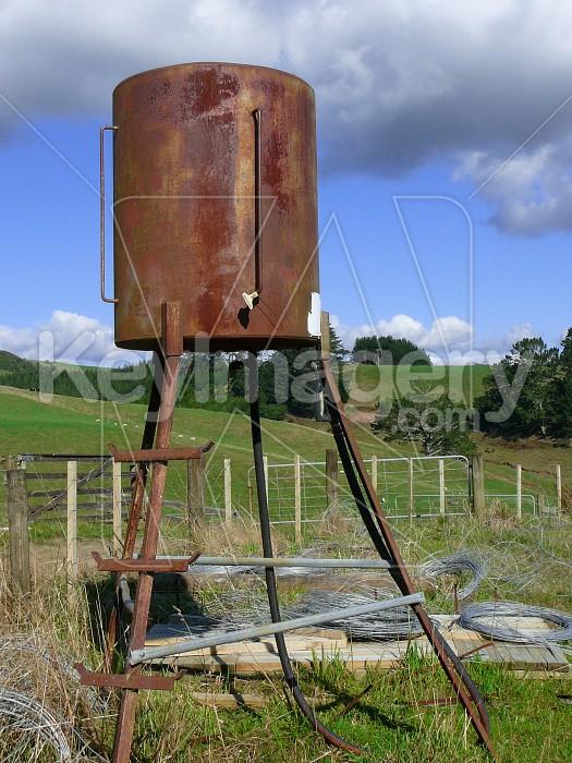 Bulk fuel stand Photo #1095