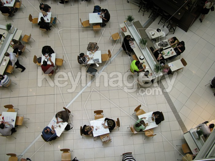 Cafe from above Photo #12580