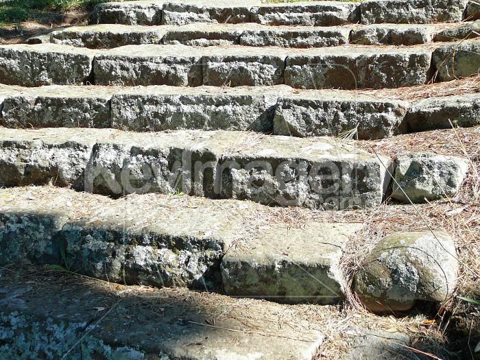 Concrete slab steps Photo #12620