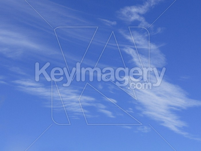 Feathery clouds Photo #1674