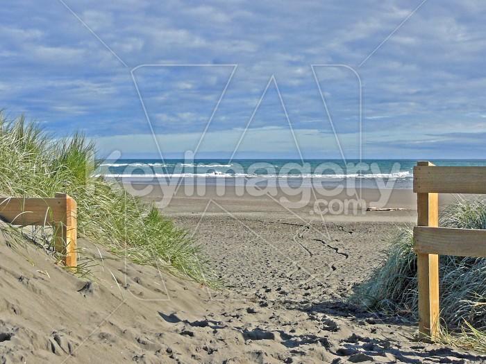 Gates to beach Photo #1307