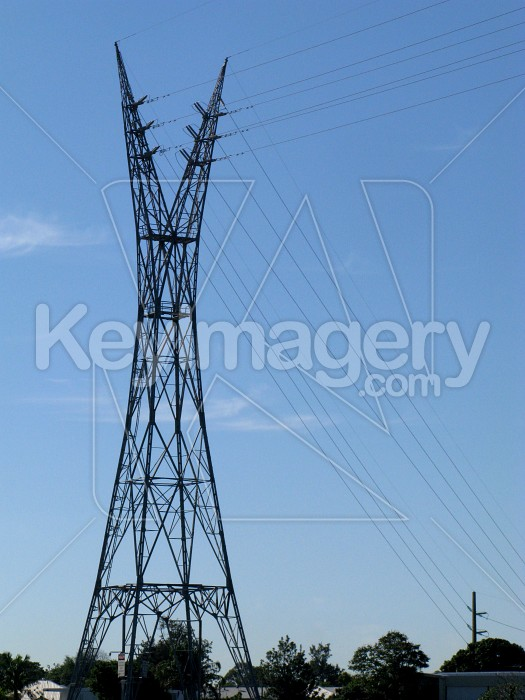 High voltage pylon Photo #12317