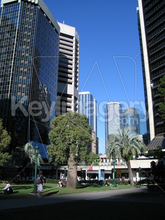 Leaning highrise buildings Photo #12568