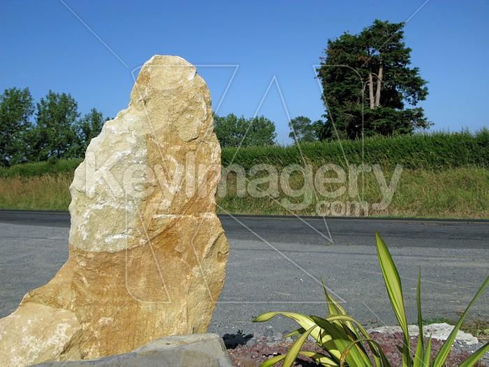 Limestone ornament Photo #7218