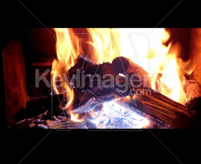 log fire Photo #1878