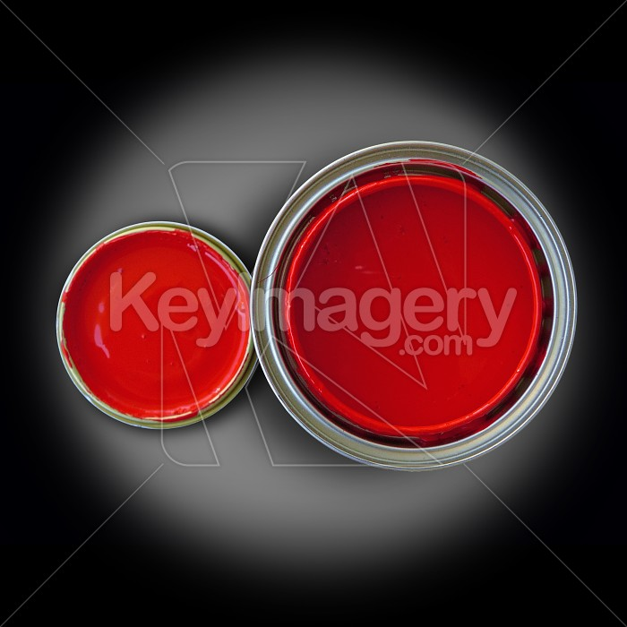Paint tin and top Photo #1079