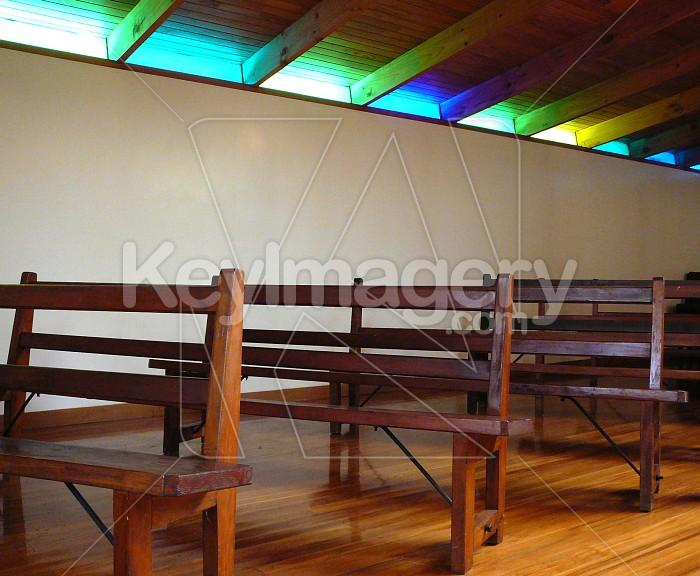 Pews in a church Photo #958