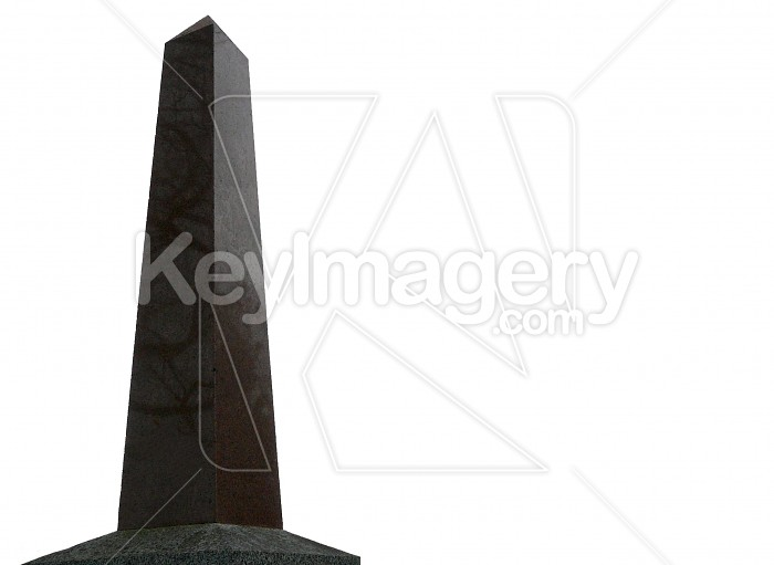Pillar isolated on white Photo #4067