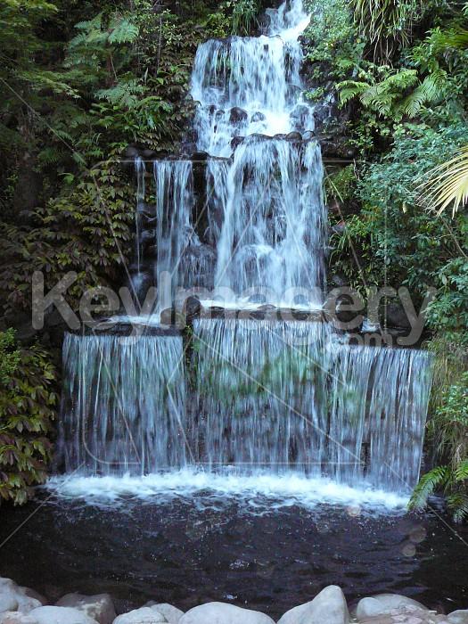 Pukekura Park Waterfall at evening Photo #7699