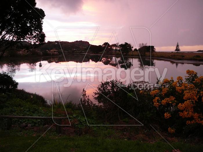 Reflections of sunset Photo #1163