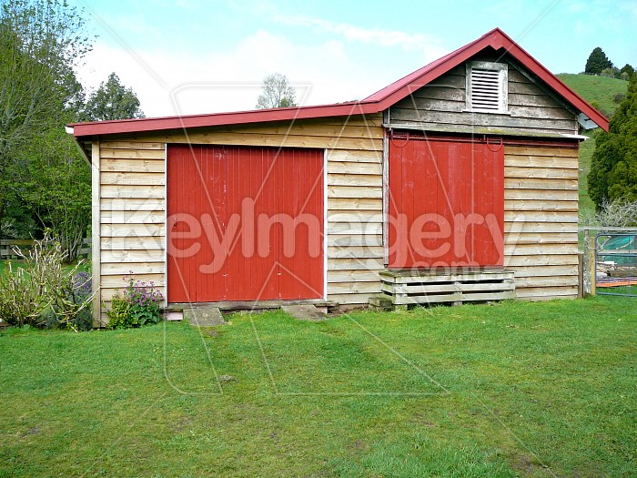 Shed red doors Photo #4731