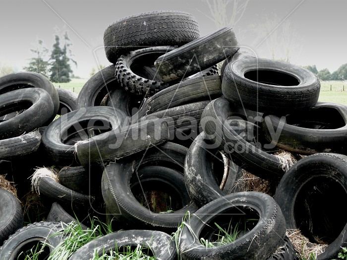 Stack of tyres Photo #1806