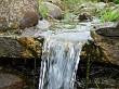 Top of waterfall