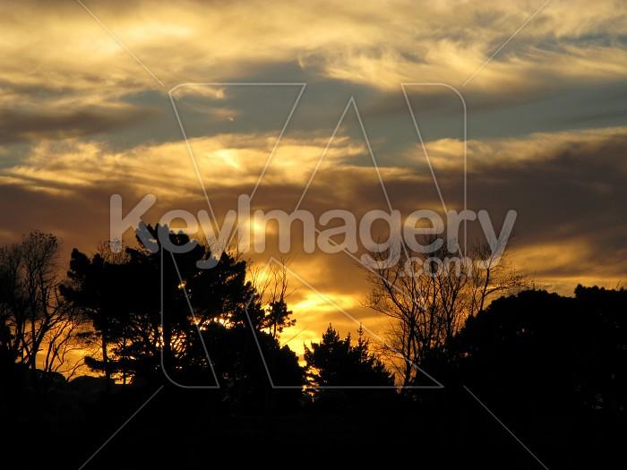 Stormy sunset Photo #12569