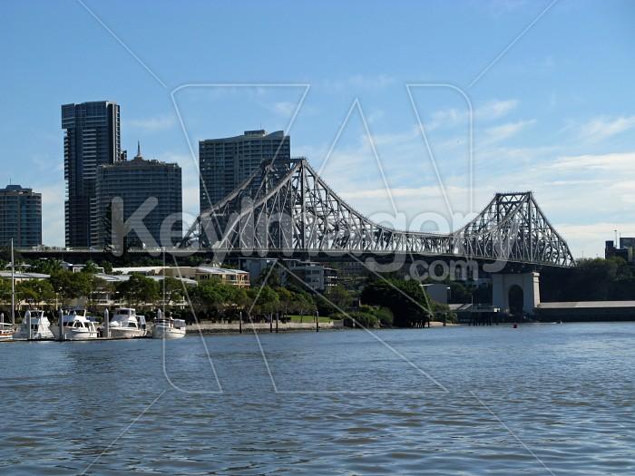 Story Bridge over the Brisbane River 2 Photo #12328