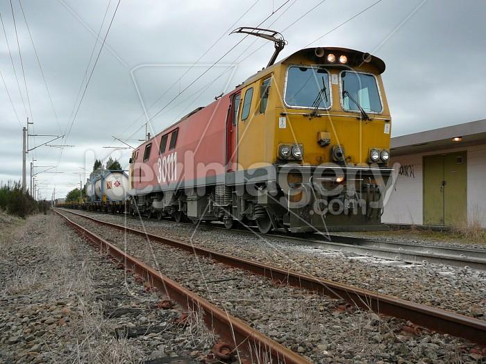 train on tracks Photo #1698