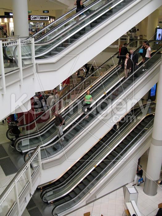 Up & down escalators Photo #12579