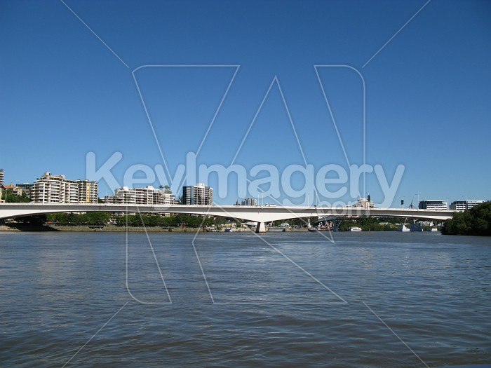 Victoria Bridge in Brisbane, Australia Photo #12634