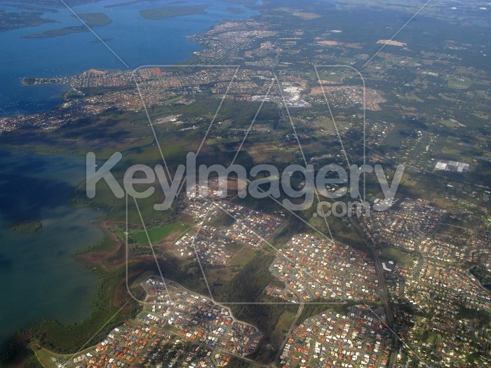 View of Brisbane from the air Photo #12376
