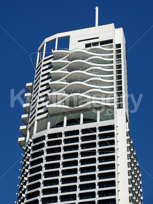 White highrise buildings 2 Photo #12321