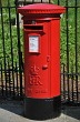 Traditional Red Royal Mail Post Box