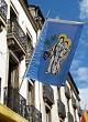 Flag on Dijon High Street