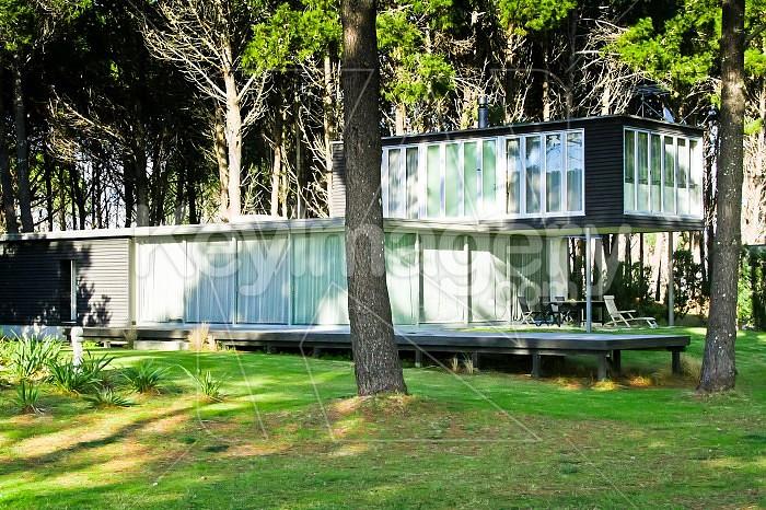 NZ Beach Houses #5B Photo #40416