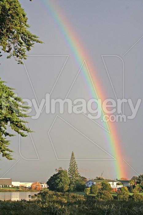 Rainbow over Water Photo #671