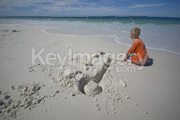 Boy On The Beach Photo #1964