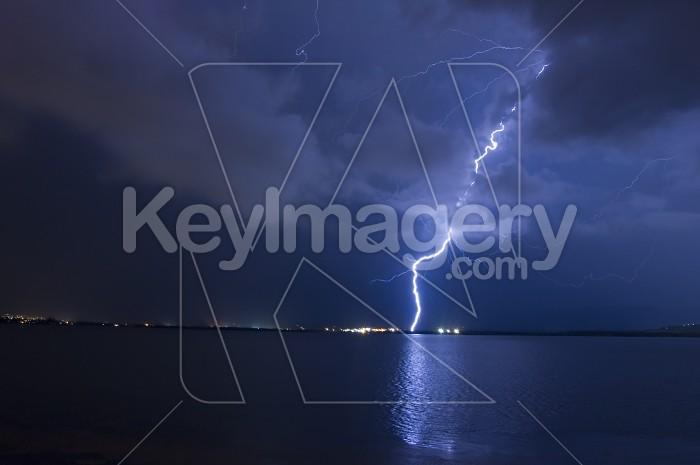 Lightning Bolt Blue Photo #1935
