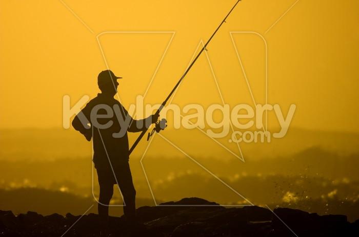 The Beach Fisherman Photo #1799