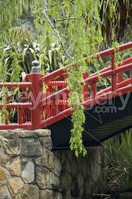 The Red Bridge Photo #1821