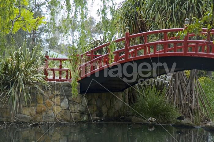 The Red Bridge Photo #1829
