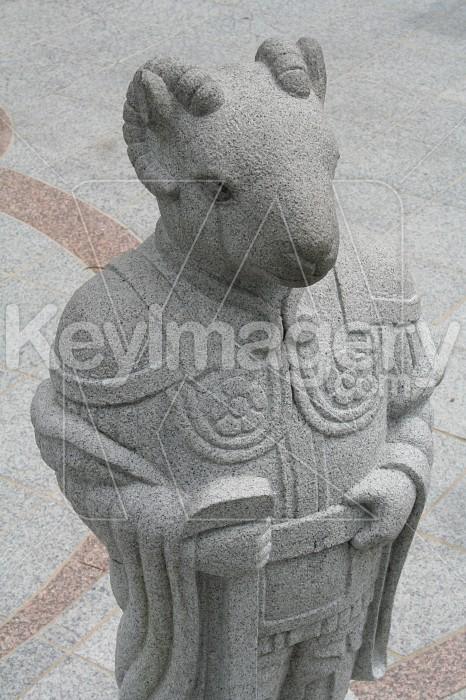 Goat Statue, Soeul, South Korea Photo #4003
