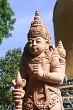 Sandstone god statue in Bali