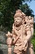 Stone god statue in Bali