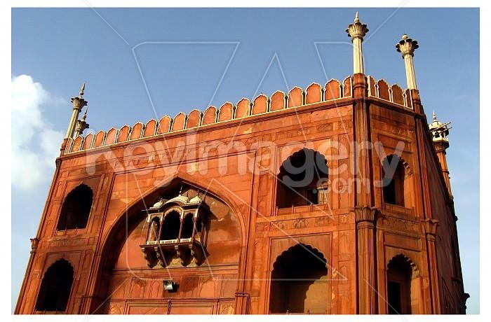 Jama Masjid, Main entrance from inside, Delhi, India Photo #23080