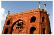 Jama Masjid, Main entrance from inside, Delhi, India