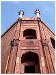 Jama Masjid, Minaret detail, Delhi, India